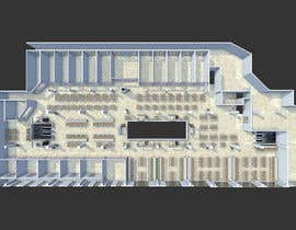 dennisDW tarafından mall food court ( Furniture arrangement, Floor Planning) için no 8