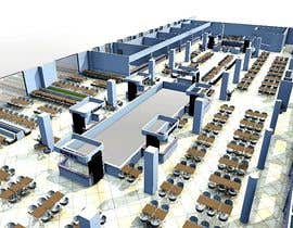 dennisDW tarafından mall food court ( Furniture arrangement, Floor Planning) için no 16