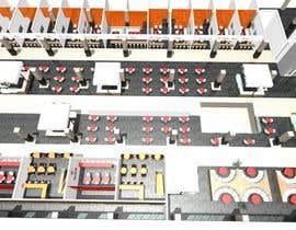 penanpaper tarafından mall food court ( Furniture arrangement, Floor Planning) için no 6