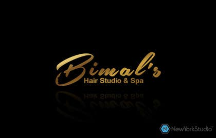 #154 untuk NEED A Stylish / Professional Salon / Hair Studio / Spa - logo design oleh SergiuDorin