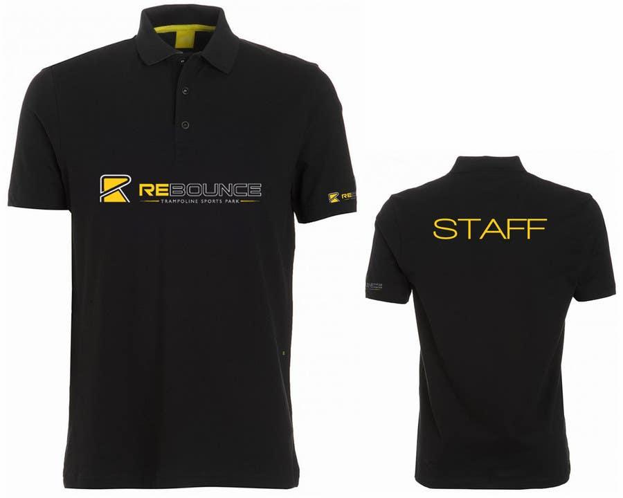 Bài tham dự cuộc thi #59 cho Design a Polo T-Shirt for Rebounce Trampoline Park
