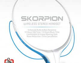 #25 untuk Create Print and Packaging Designs for Skorpion Bluetooth Headset oleh avtoringUK