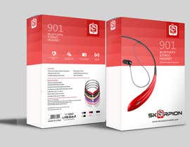 #10 for Create Print and Packaging Designs for Skorpion Bluetooth Headset af primadanny