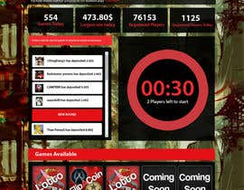 #15 untuk Design a Website Mockup for CSGOCasino.net oleh kethketh