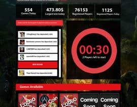 #16 untuk Design a Website Mockup for CSGOCasino.net oleh kethketh