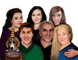 #18 cho Caricature of my family bởi stevanzivkovic