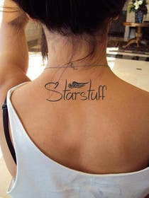 "#23 untuk Design a Tattoo with the word ""Starstuff"" oleh artworker512"