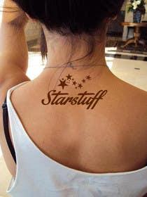 "#24 untuk Design a Tattoo with the word ""Starstuff"" oleh artworker512"