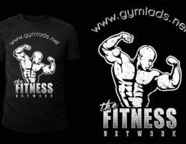 #13 untuk Design a T-Shirt for A Bodybuilding community website oleh stevesartorio13