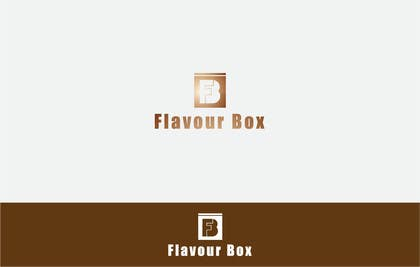 #35 for Design a logo for a take away restaurant called 'FLAVOUR BOX' af MFaizDesigner