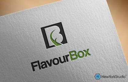 #82 for Design a logo for a take away restaurant called 'FLAVOUR BOX' af SergiuDorin