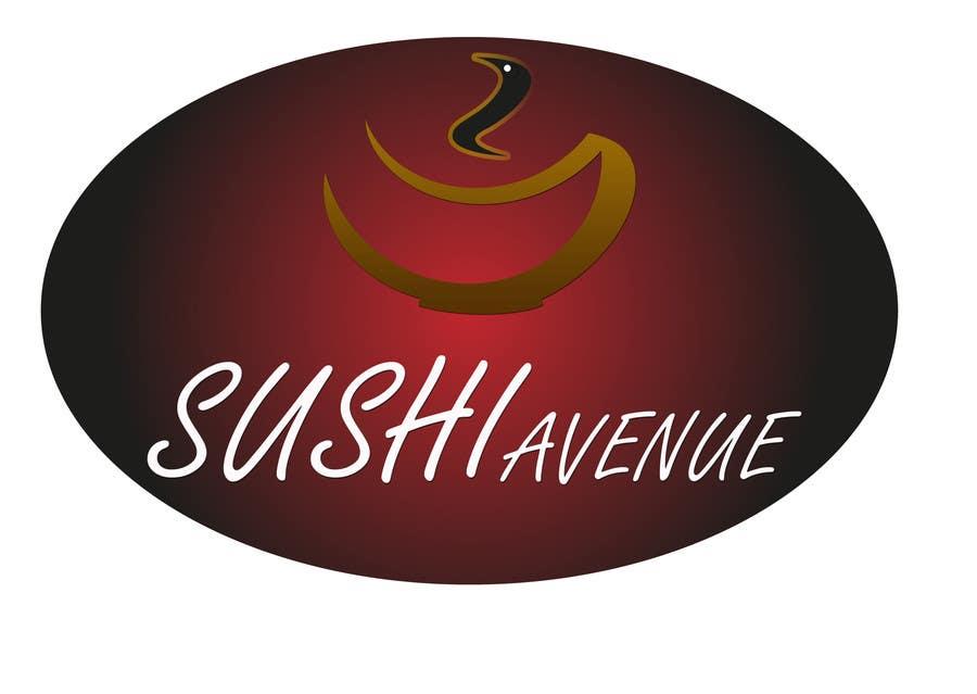 Penyertaan Peraduan #30 untuk Design a Logo for SUSHI AVENUE