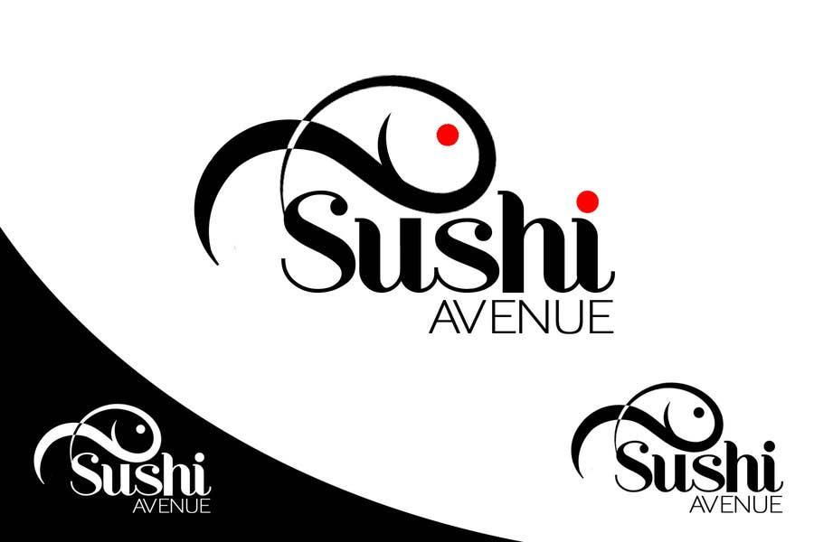 Penyertaan Peraduan #19 untuk Design a Logo for SUSHI AVENUE