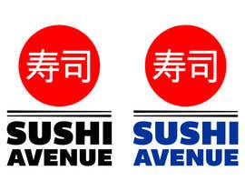 nº 29 pour Design a Logo for SUSHI AVENUE par Irkutsk
