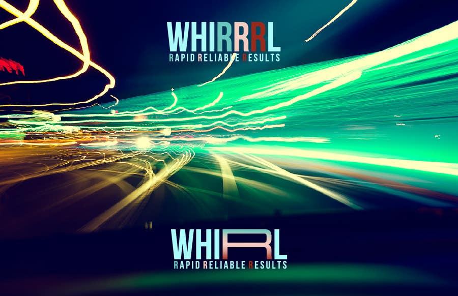 Konkurrenceindlæg #3 for Design a Logo for Whirrrl