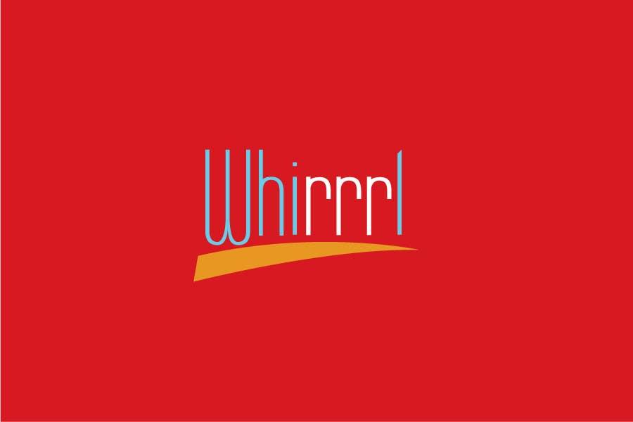 Konkurrenceindlæg #6 for Design a Logo for Whirrrl