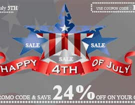 #12 for Design a Banner for 4th of july by bhanuudhay