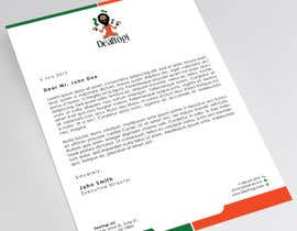 Derard tarafından Design a Letterhead - looking for imagination and creativity! için no 86