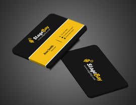 #88 untuk Design business cards for Stagebay oleh imtiazmahmud80