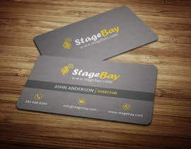 #14 untuk Design business cards for Stagebay oleh anikush