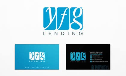 #8 for Develop a Corporate Identity for YFG Lending - Logo & Business Card af LeeniDesigns