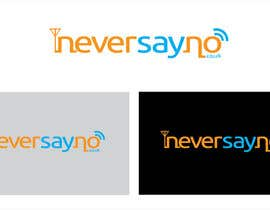 #45 for Design a Logo for NeverSayNo.co.uk a Mobile Phone Contract/Airtime website af sahinoor