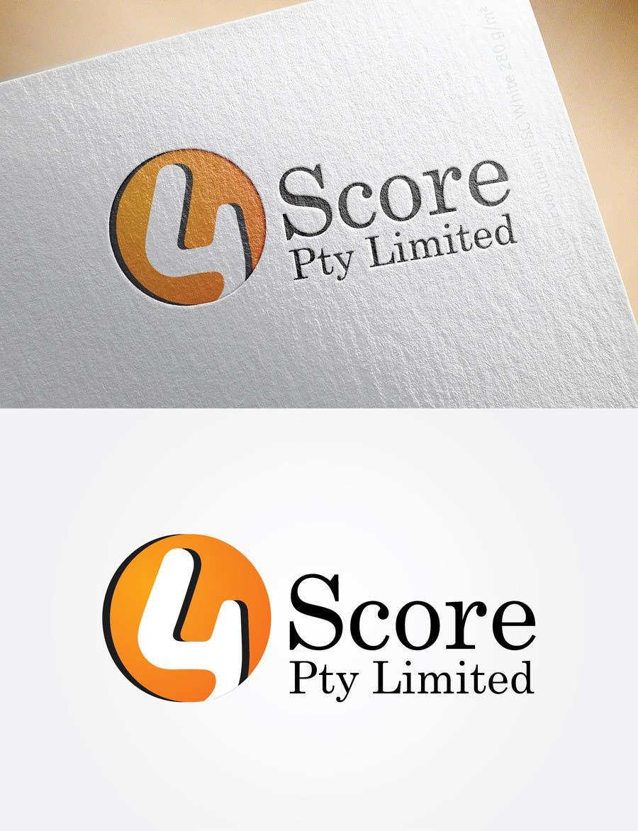 Penyertaan Peraduan #8 untuk Design a logo for 4Score