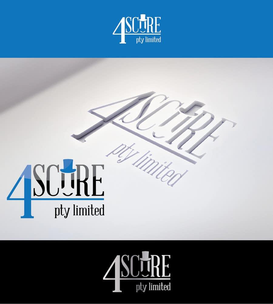 Penyertaan Peraduan #34 untuk Design a logo for 4Score