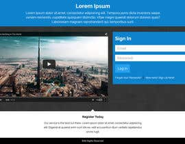 #22 for Design a Landing Page template. af shakib609