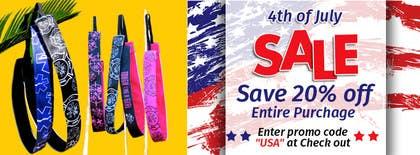 Nro 14 kilpailuun 4th of July Sale käyttäjältä sameer6292