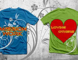 #14 for Design a T-Shirt for Mission Team by naushadqasimali
