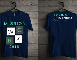 #20 for Design a T-Shirt for Mission Team by kimkhoy