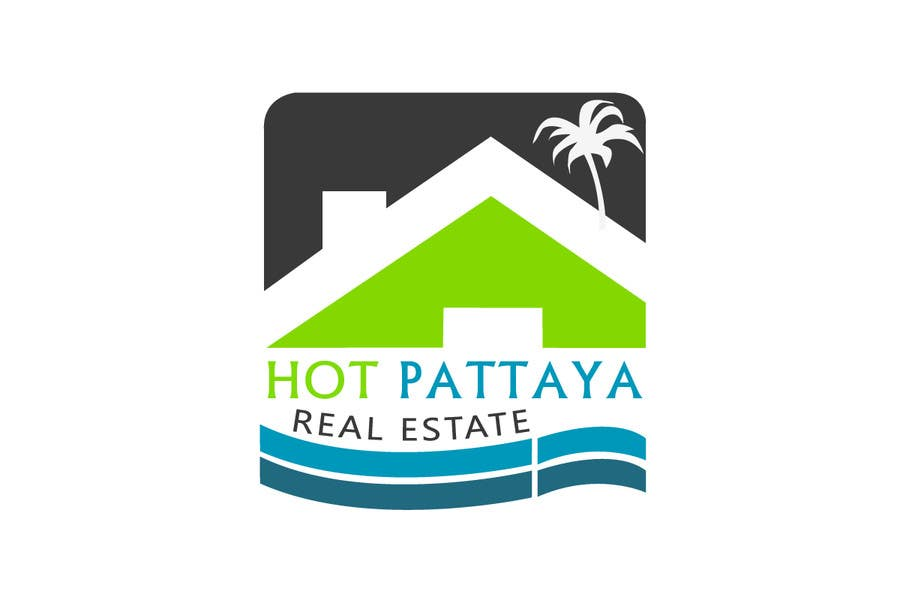 Proposition n°93 du concours Design a Logo for REAL ESTATE company named: HOTPATTAYA