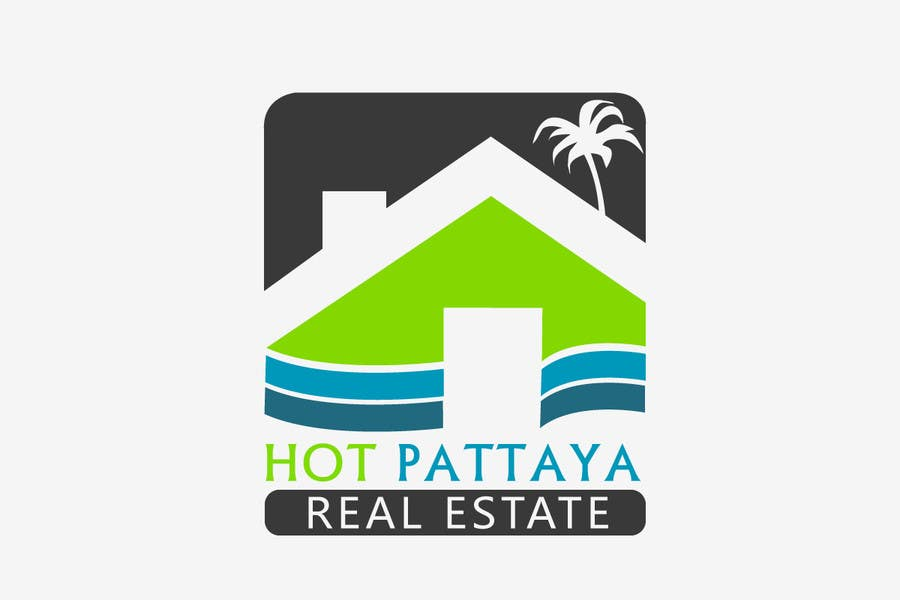 Proposition n°94 du concours Design a Logo for REAL ESTATE company named: HOTPATTAYA