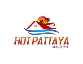 #109 para Design a Logo for REAL ESTATE company named: HOTPATTAYA por brandcre8tive