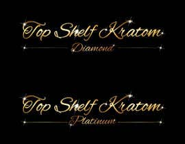#64 untuk Design a Logo for Top Shelf Kratom oleh vasked71