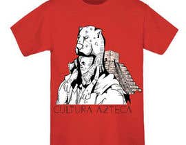 #23 for Diseñar una camiseta for cultura azteca af FranciscoLeon94