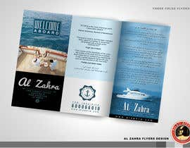 #28 for Design a Flyer for luxury yacht charter af KilaiRivera
