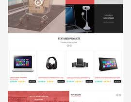 #4 cho Wireframe for Online computer and consumer electronics retail store bởi prestashop1