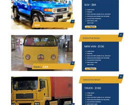 #11 cho Design a Website and Logo  for CAR WASH Detailing bởi zaxsol