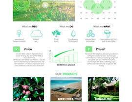 #11 untuk Desert-Greening.com contest! Design our Homepage! oleh pilipenko2001