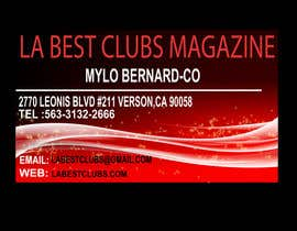 #11 for LABESTCLUBS MAGAZINE BUSINESS CARD af usbaig