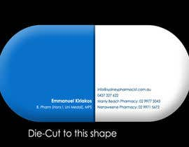 #133 dla Business Card Design for retail pharmacist based in Sydney, Australia przez czampese