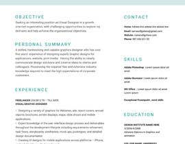 #11 for Resume and Cover letter af Fgny85