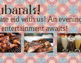 #6 cho Design an Advertisement for Eid Greetings to our guests bởi aefess