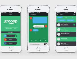 #1 for Design an App Mockup for our messaging app by shahirnana