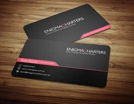 #6 untuk Design some Business Cards for Enigma Charters oleh anikush