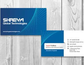 #21 cho Design some Business Cards for Shreya Global Technologies bởi sami24x7