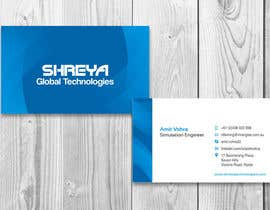 #22 untuk Design some Business Cards for Shreya Global Technologies oleh sami24x7