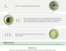 #12 cho Design TWO how-to flyers for making japanese tea bởi adityadhawan226